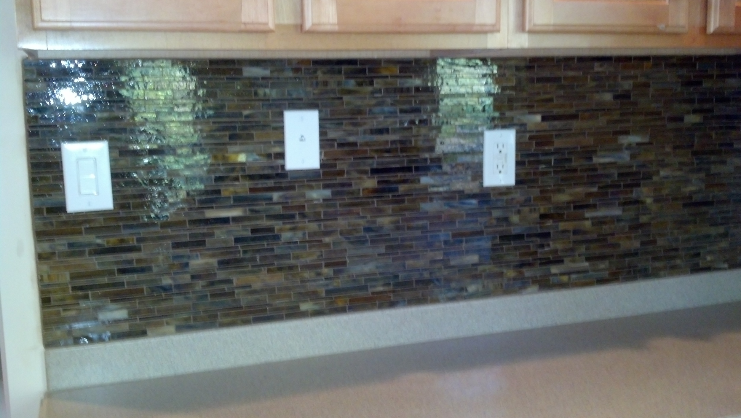 Maderia Kitchen Backsplash Installation