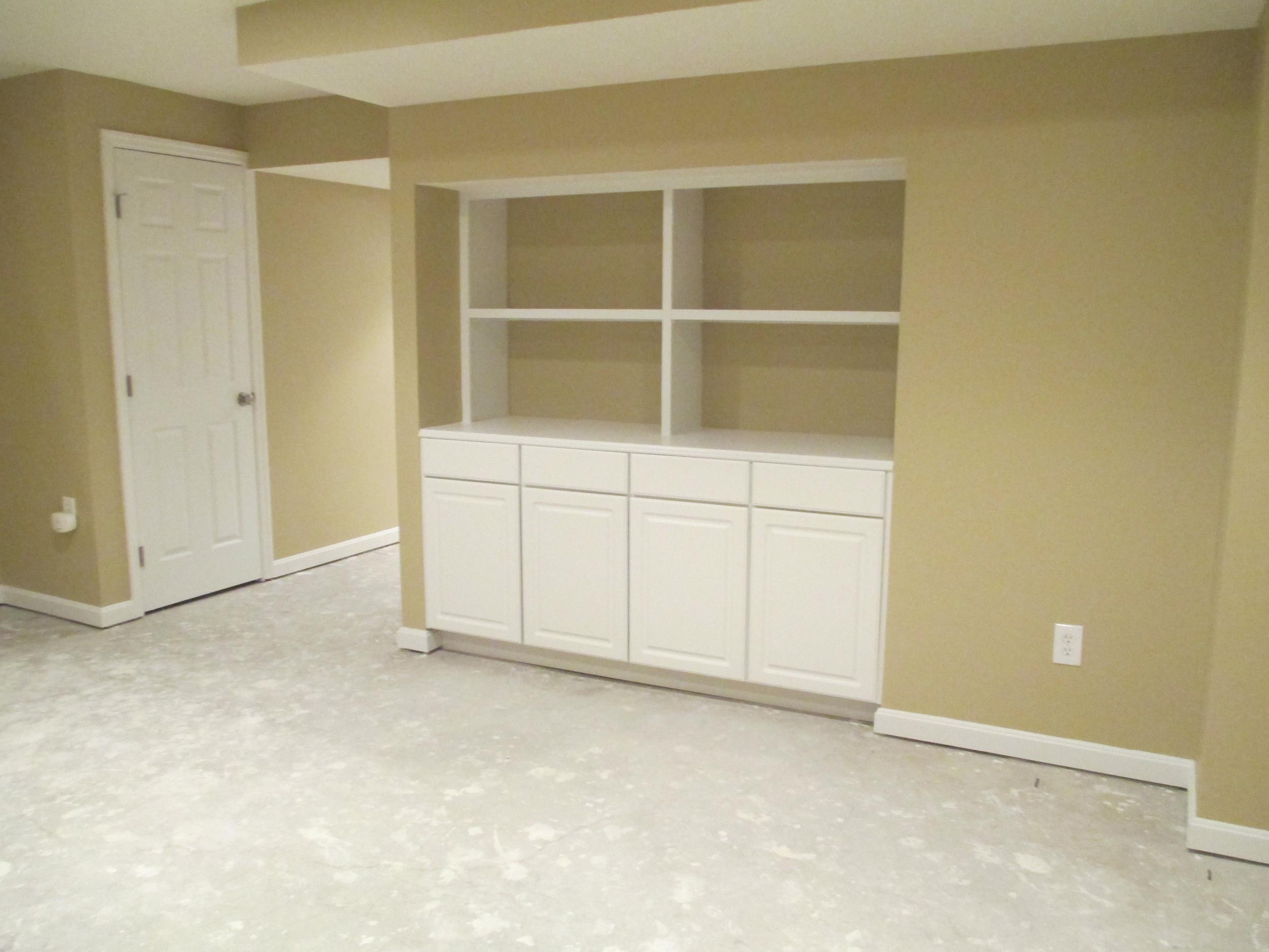 Silverton Finished Basement Cabinets