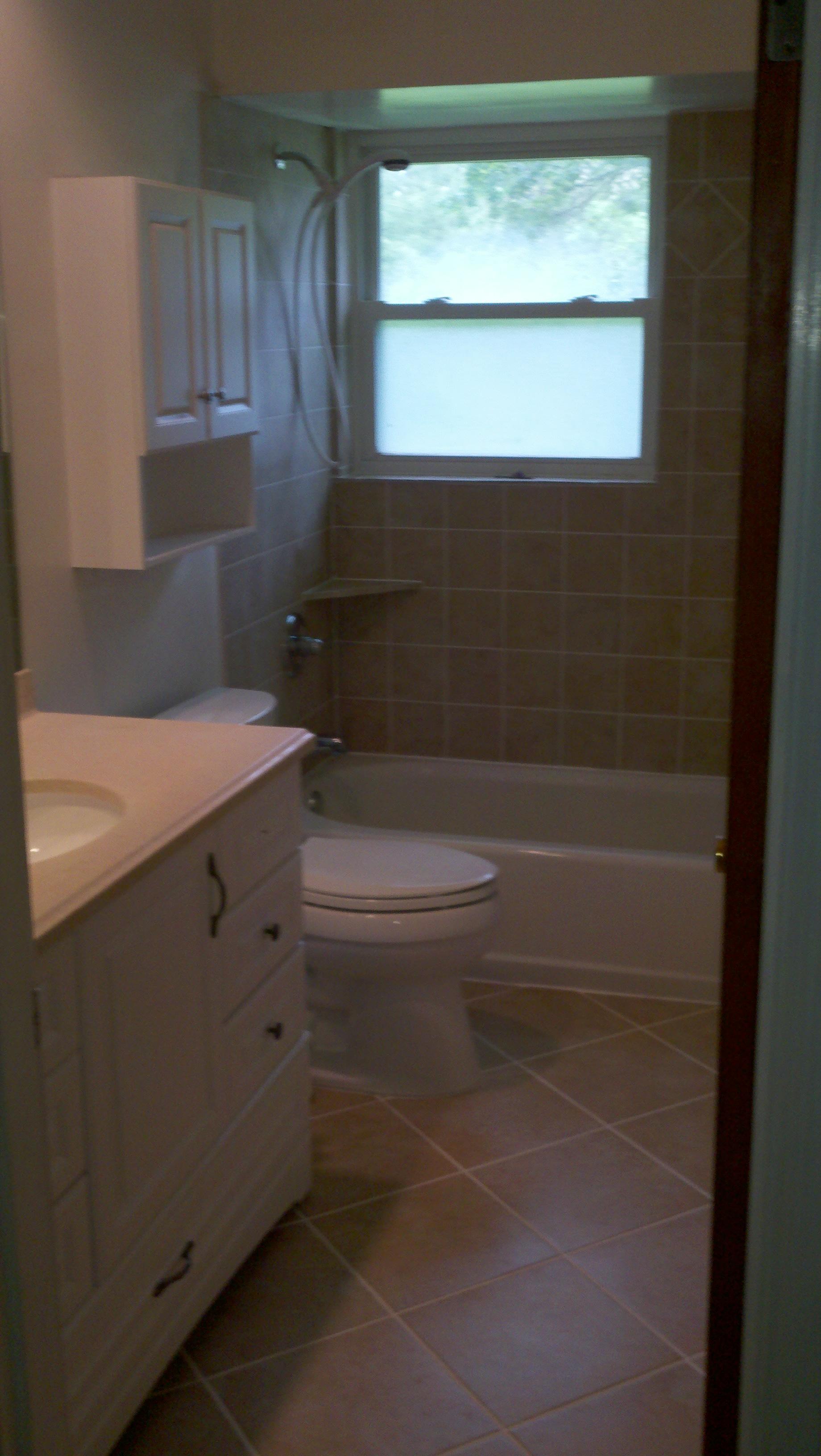 Cincinnati Construction Bathroom