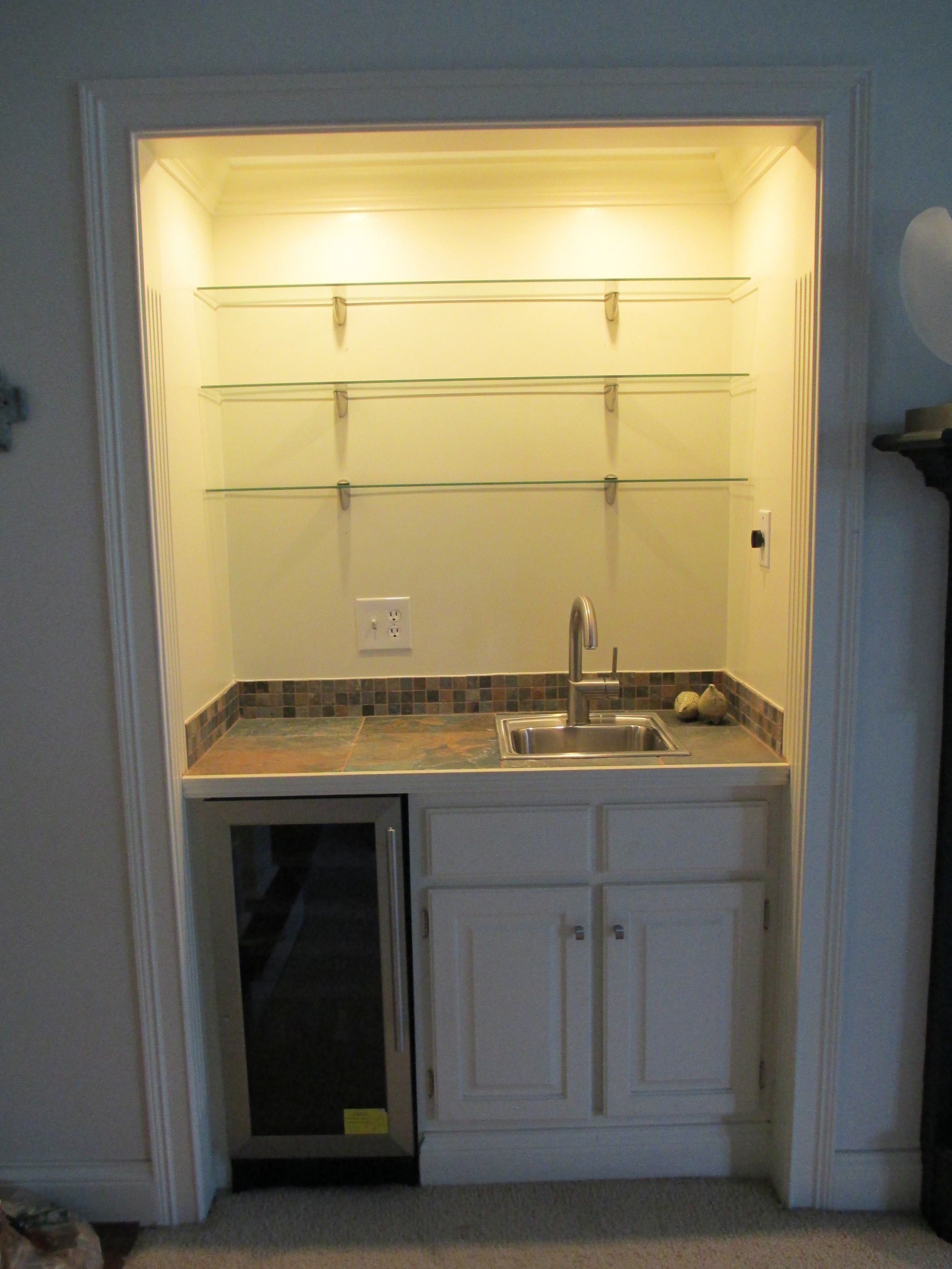 Mt Washington Wet Bar Installation
