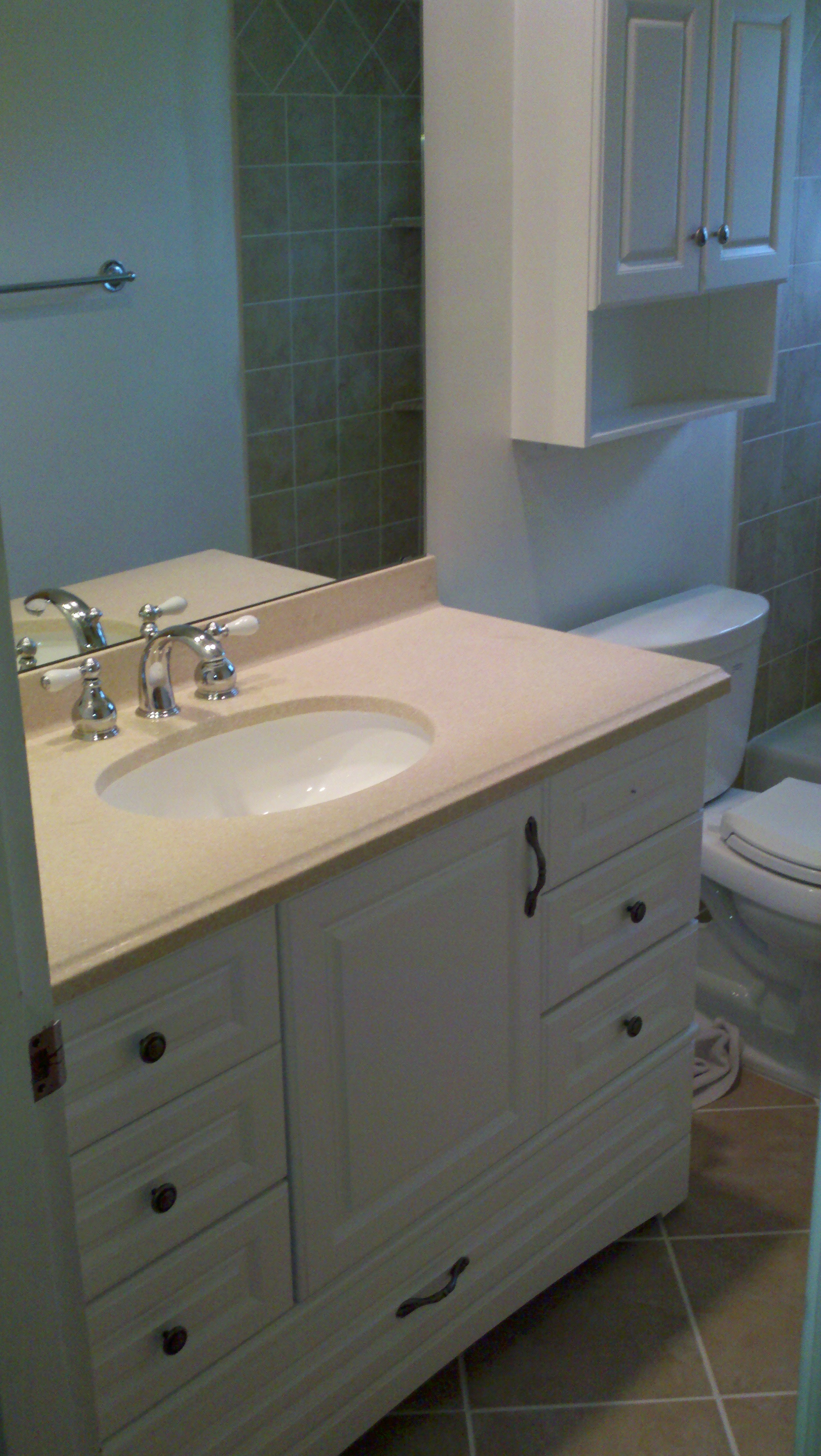 Crestview Hills Bathroom Sink Install