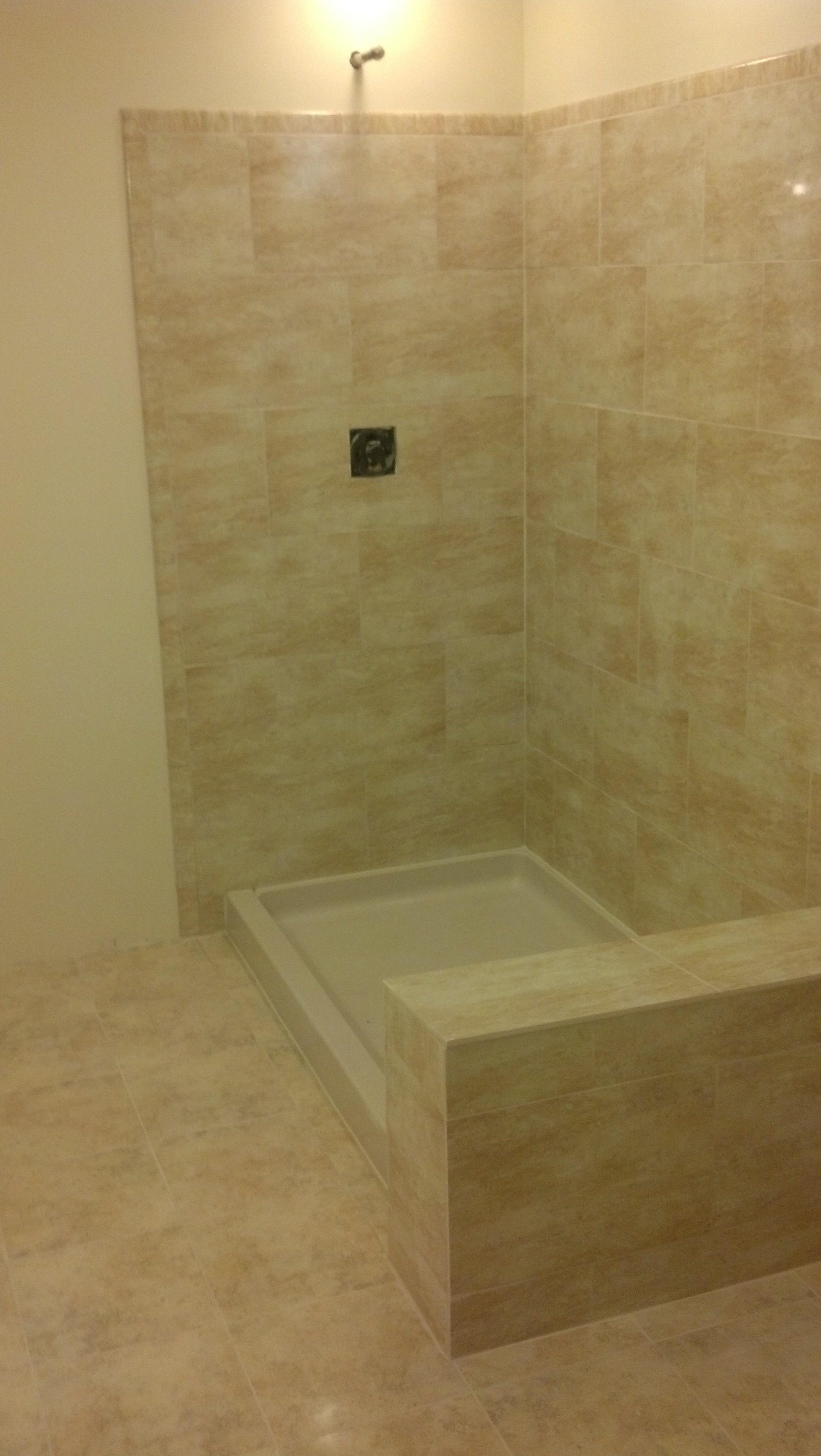West Latonia Shower Remodel