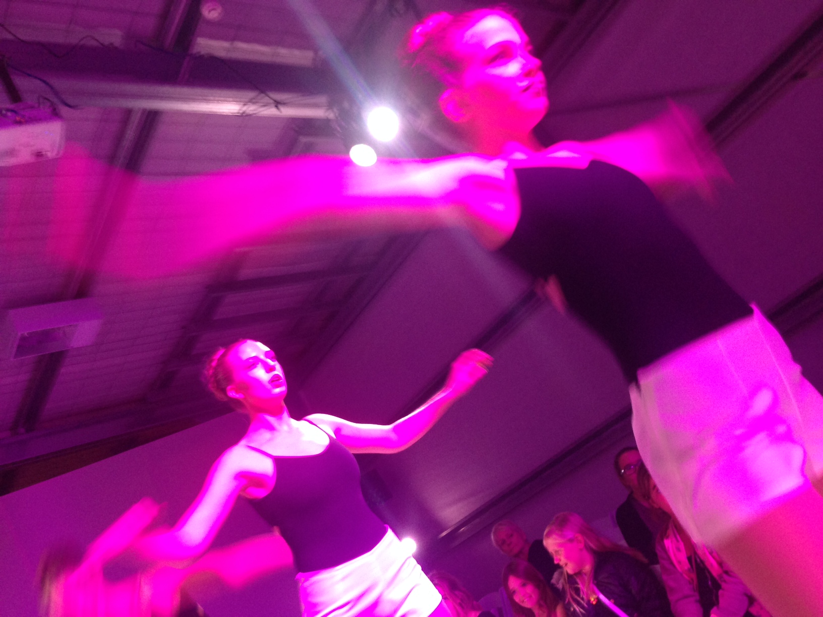 Sass Collective Dancers during the kids show in the afternoon at Island Styles 2014