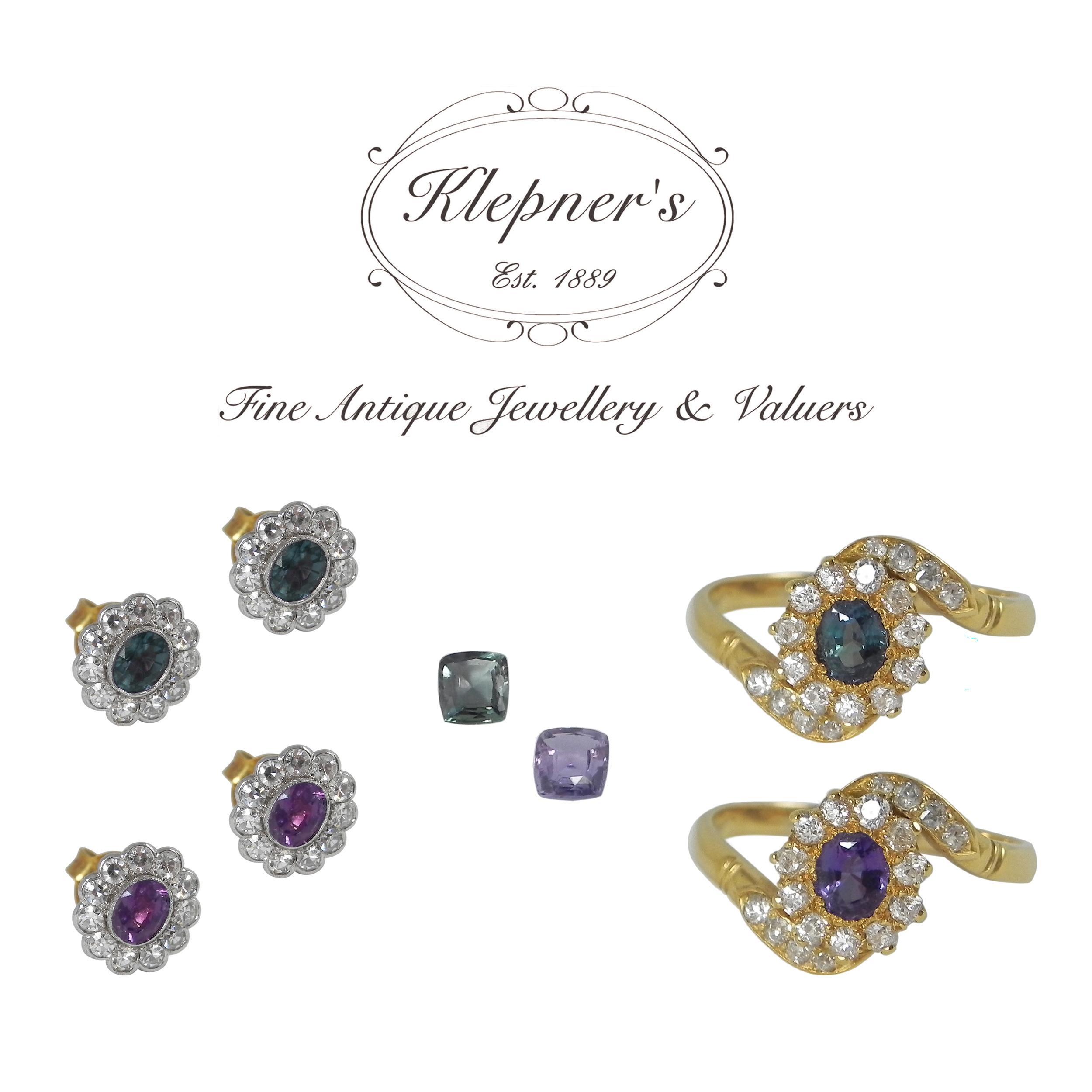 Natural Colour Change Alexandrite and Garnet Jewellery.jpg