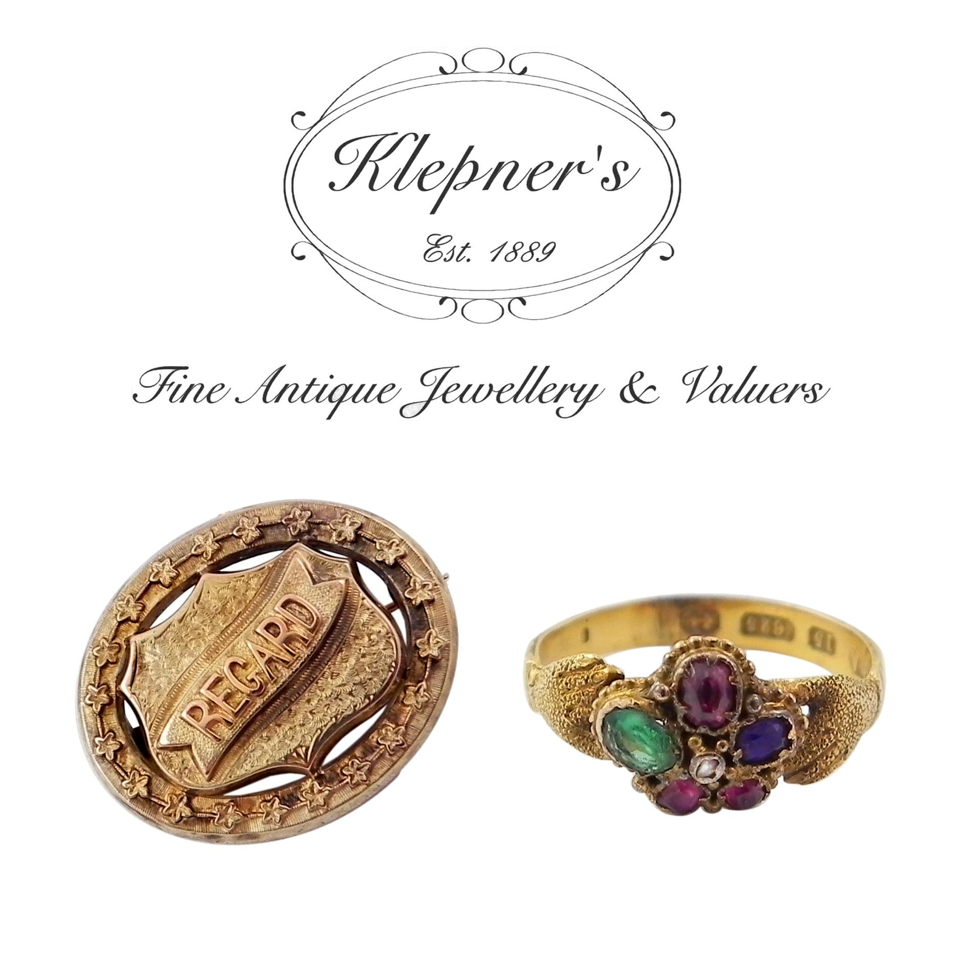 Antique Rgard and Dearest Rings and Jewellery