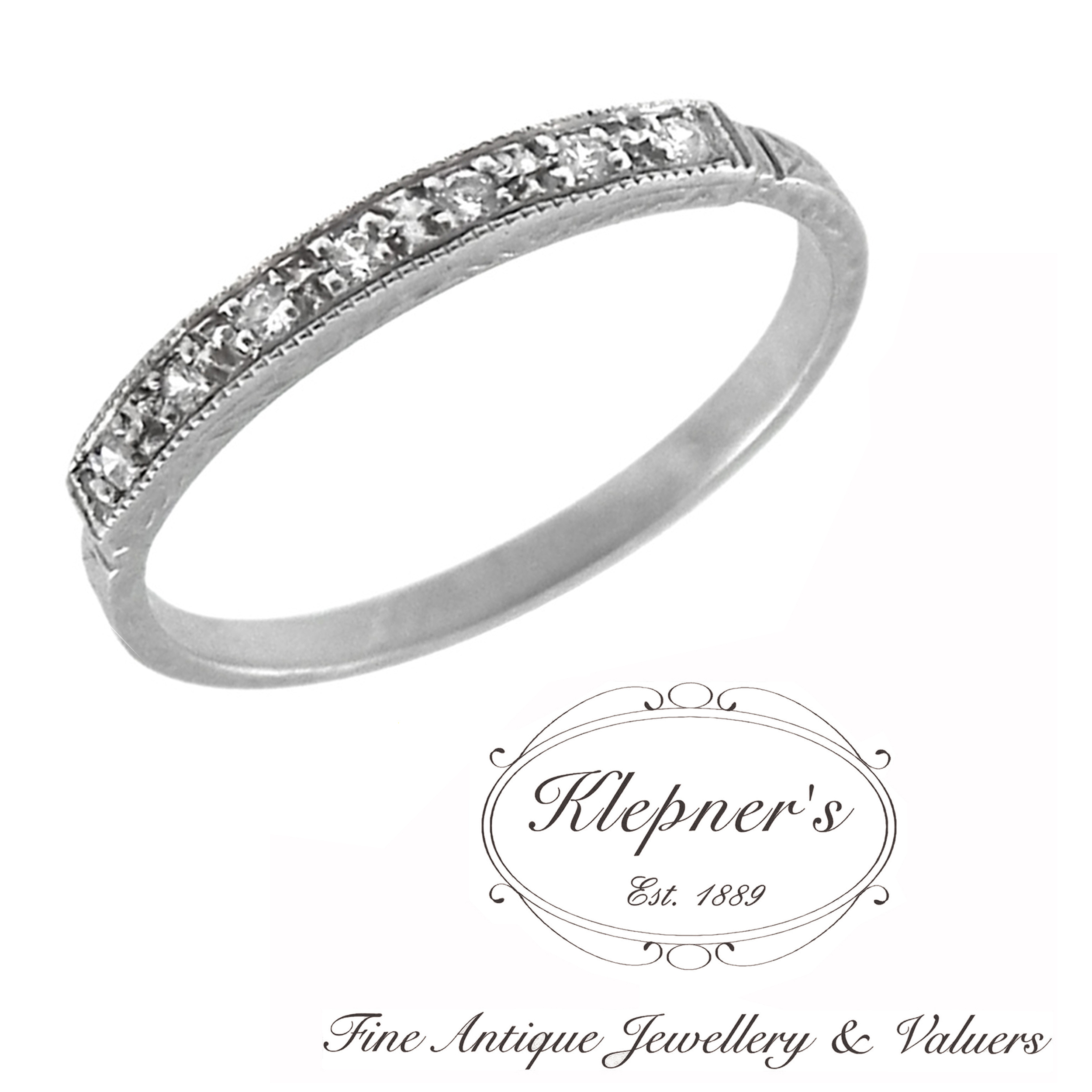 Custom Made Vintage Inspired Wedding Bands