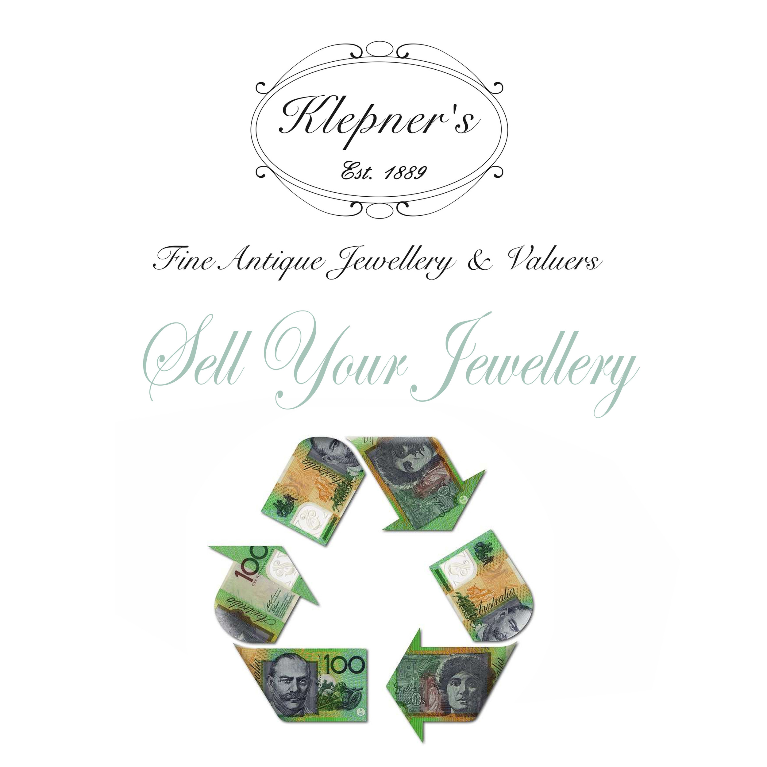 Click to find out more about our selling or consigning your old jewellery