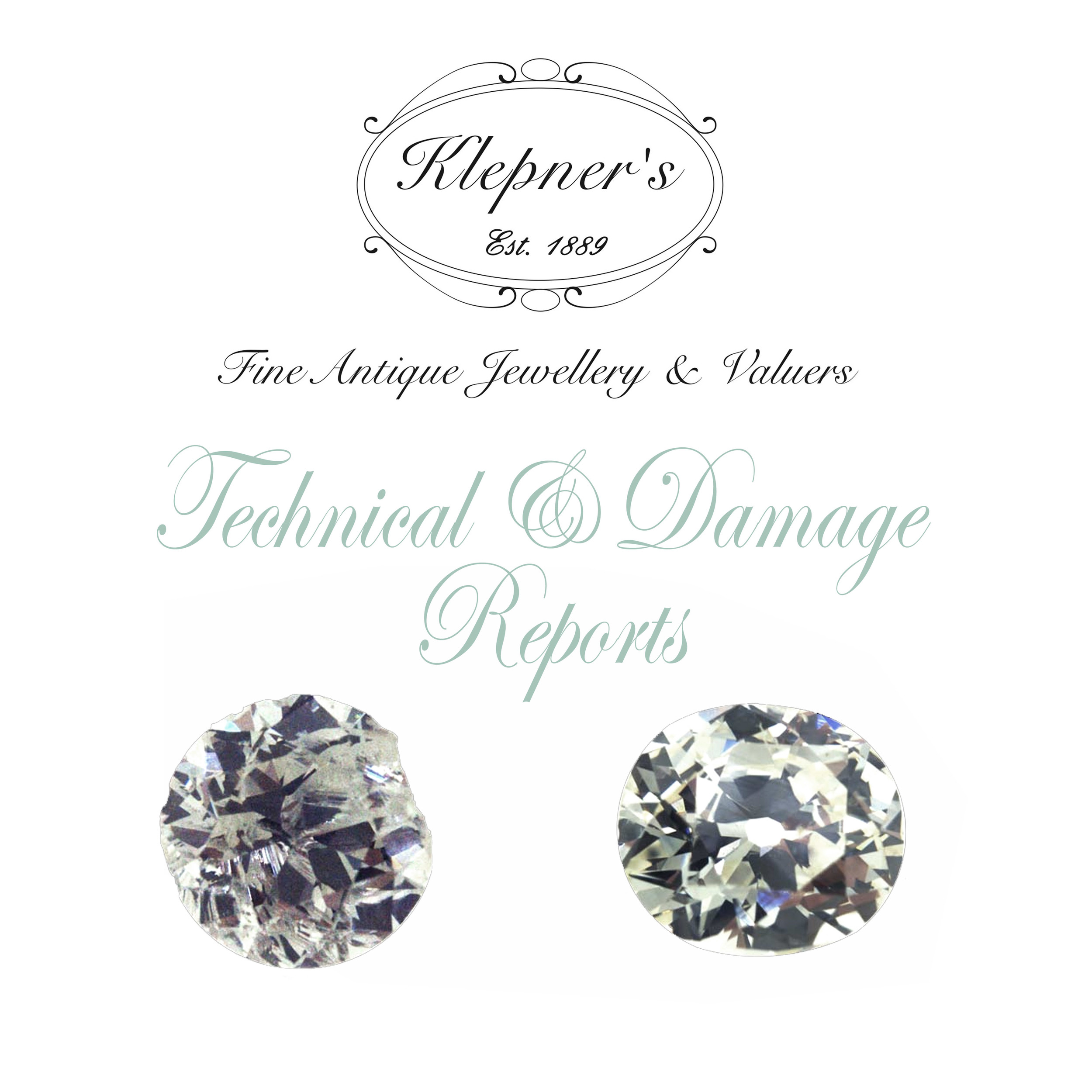 Click here to find out more about our jewellery damage & technical reports