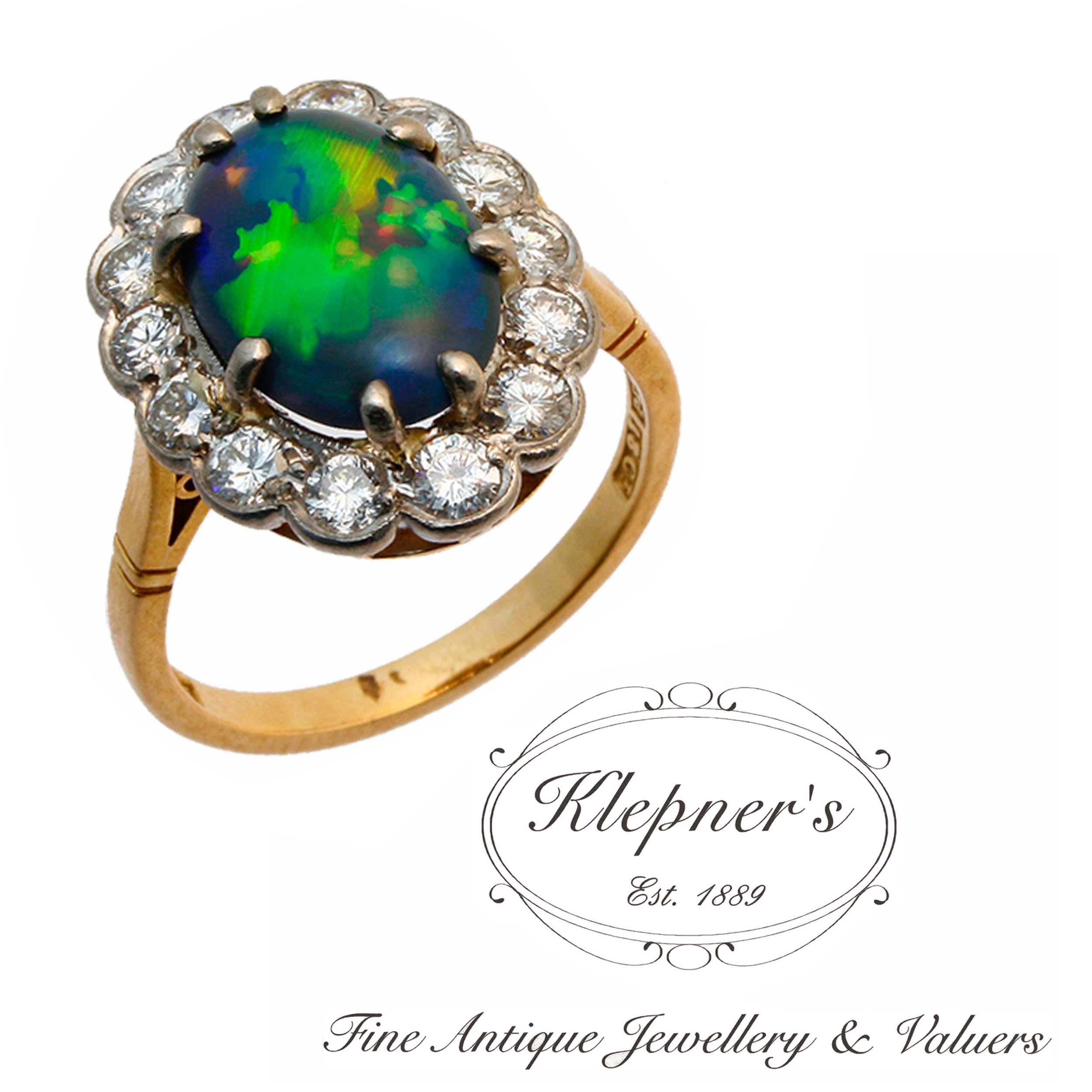 Coloured Gemstone Ring Archive