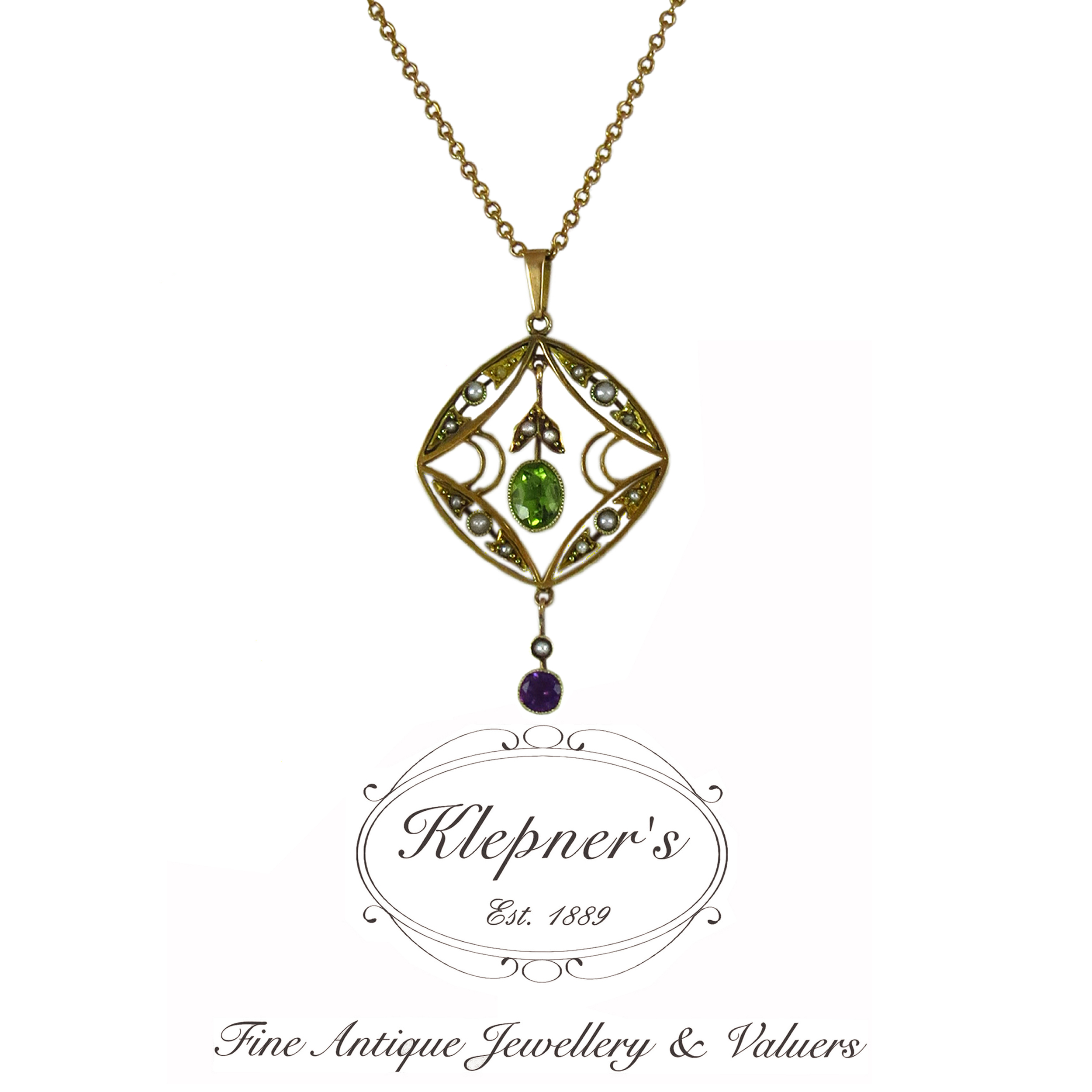 SUFFRAGETTE NECKLACE