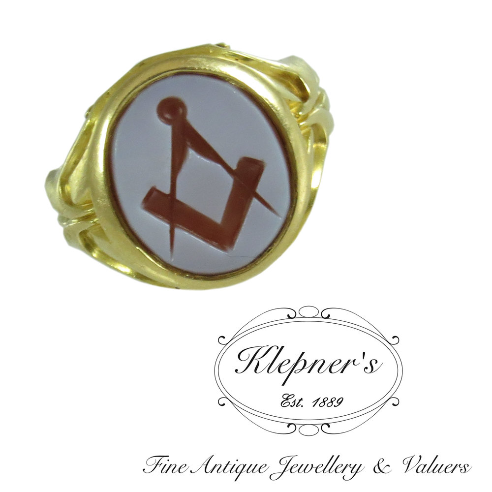 Signet Ring Archives — Klepner's Fine Antique Jewellery & Valuers