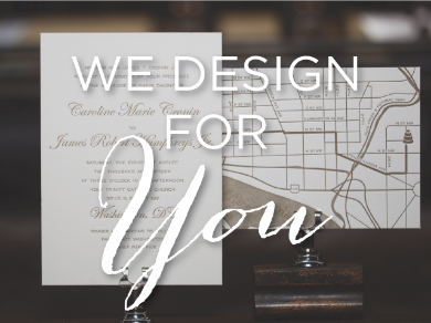 Our skilled creative team is ready and able to bring your vision to life. We offer full-service graphic design for your custom work. From start to finish, our goal is to make the design process easy and exciting for you.