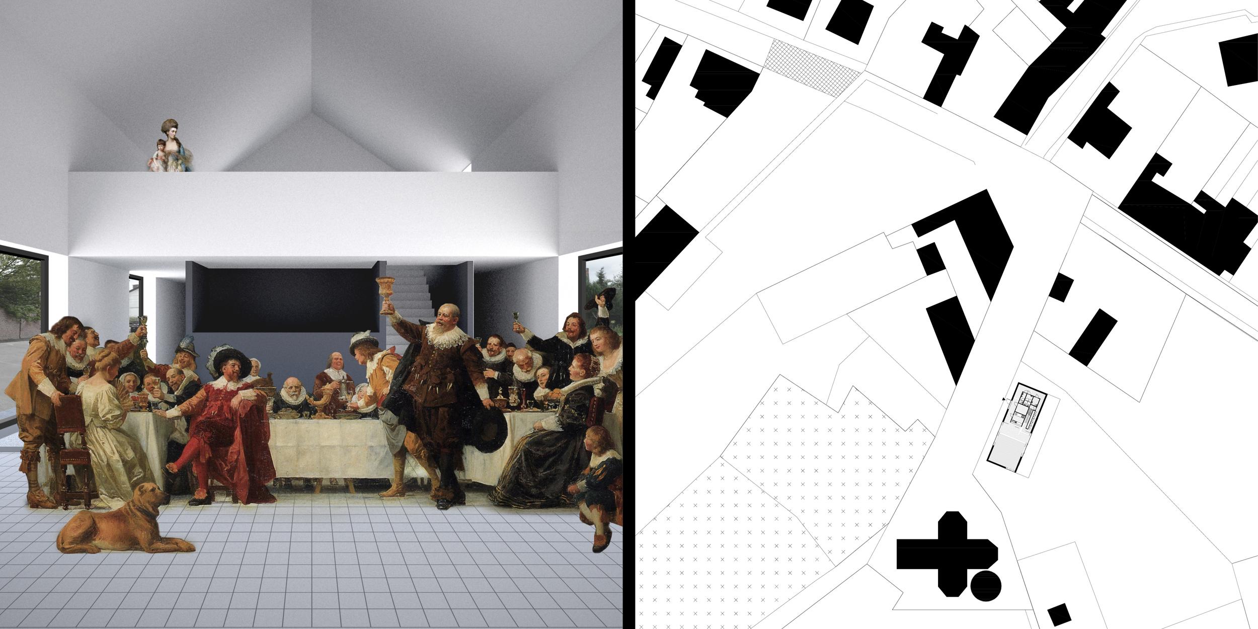 Étude urbaine de Frameries