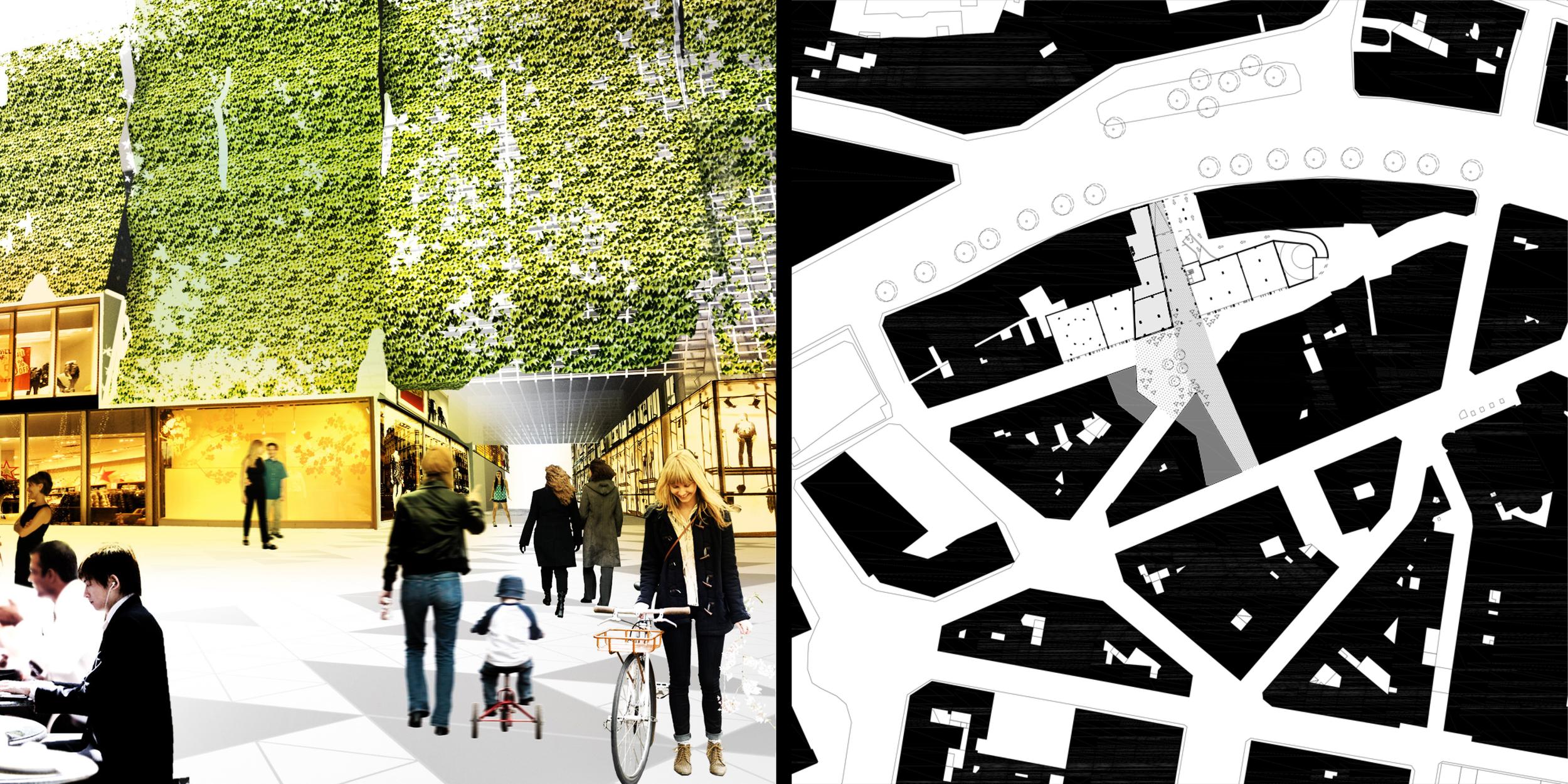 Étude urbaine de la Ville Basse