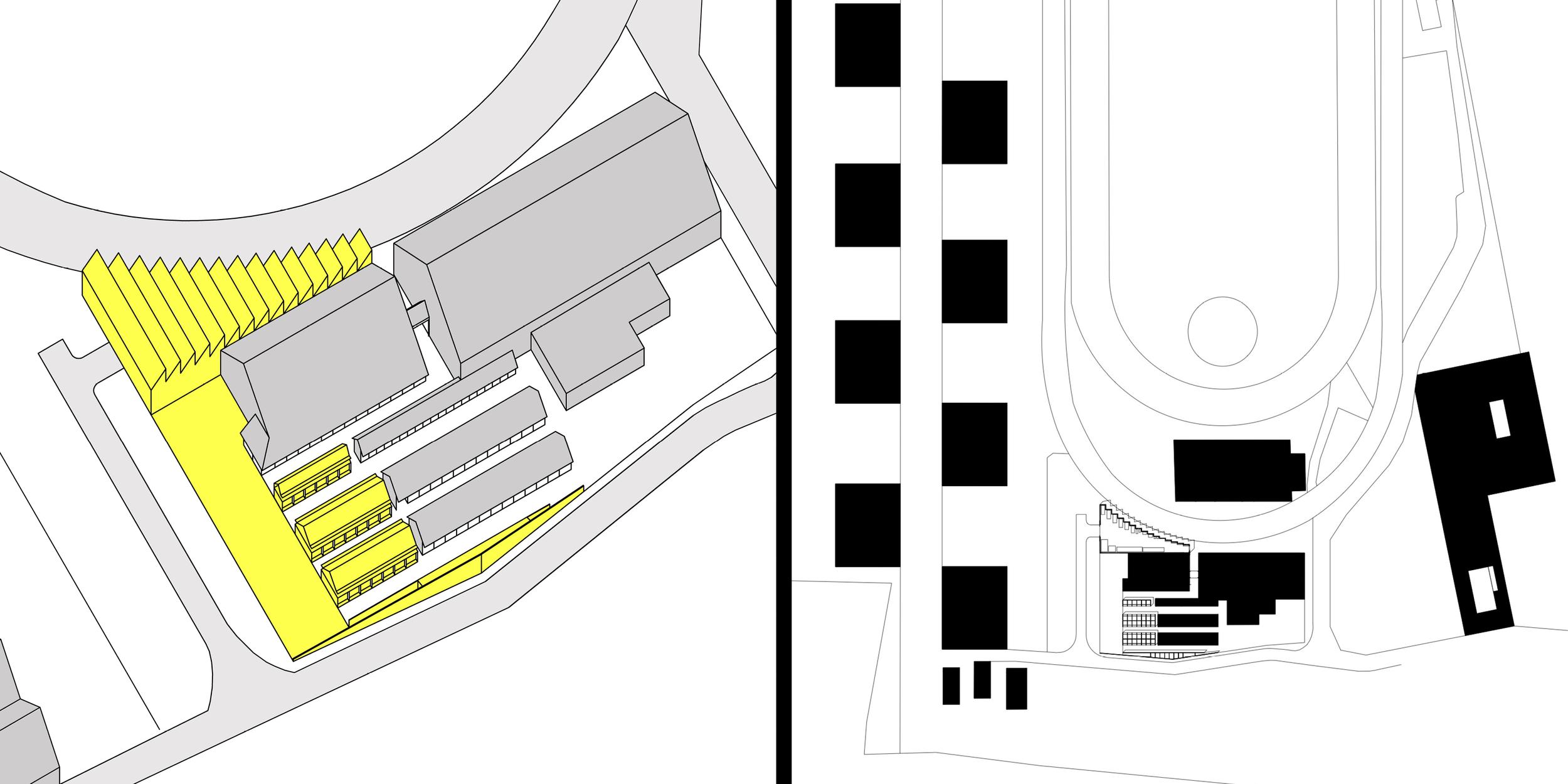 Hangar de l'hippodrome de Wallonie