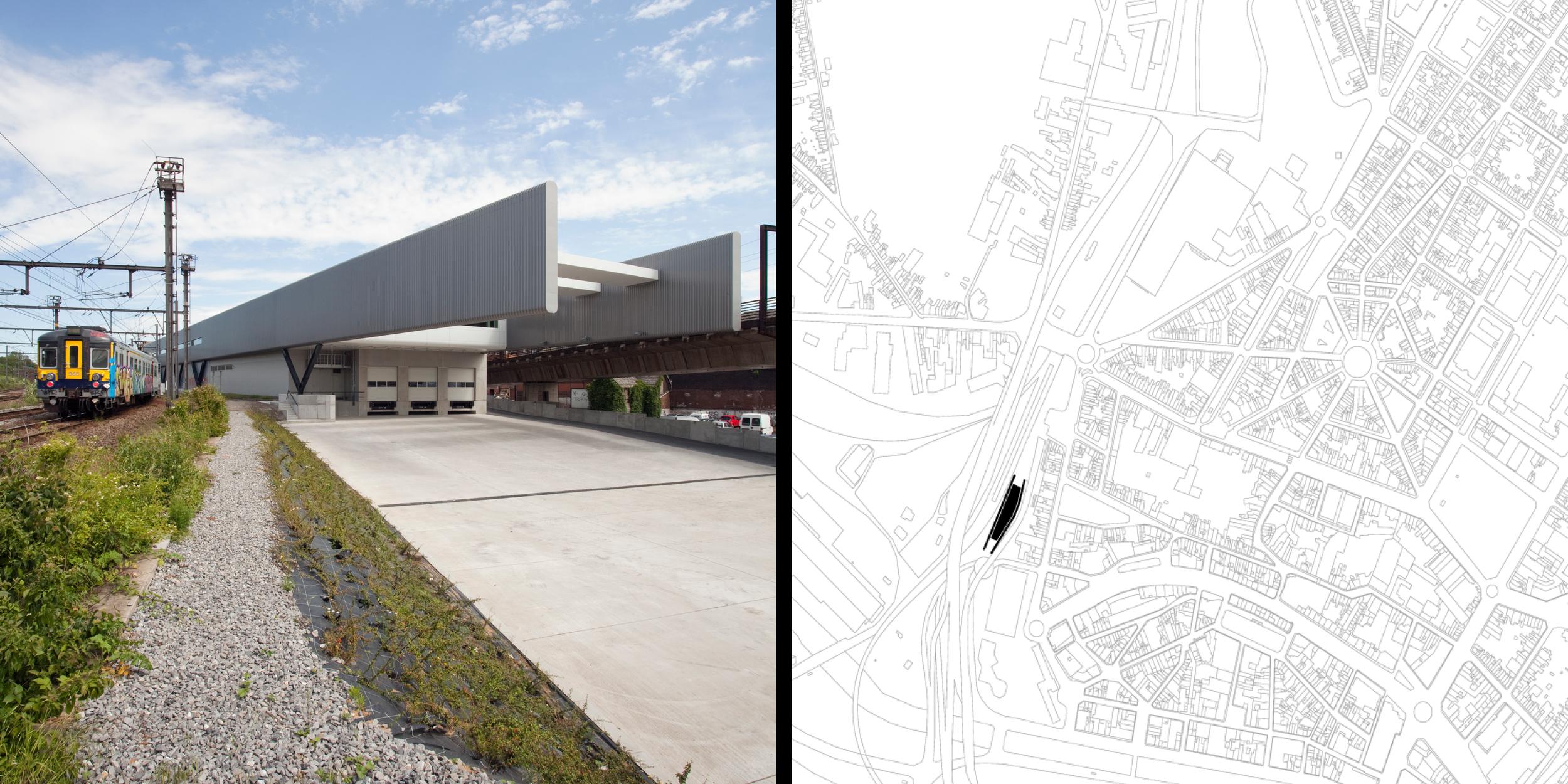 Centre de distribution urbaine de Charleroi