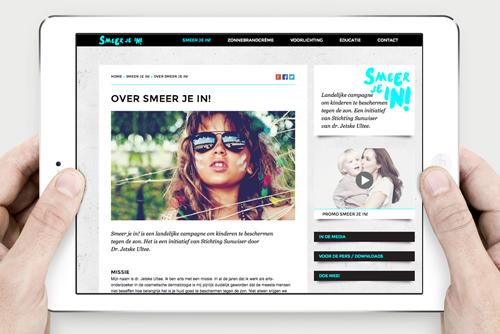SMEER JE IN!   WEBSITE