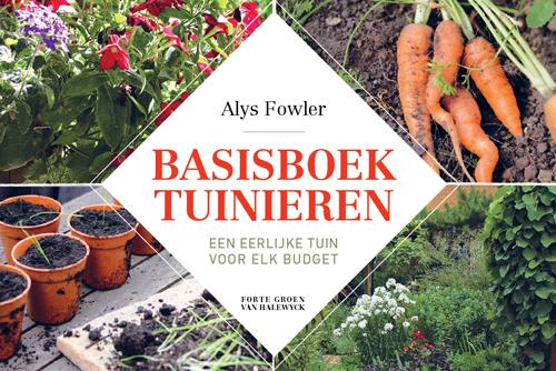 BASISBOEK TUINIEREN | FORTE UITGEVERS   BOEKOMSLAG