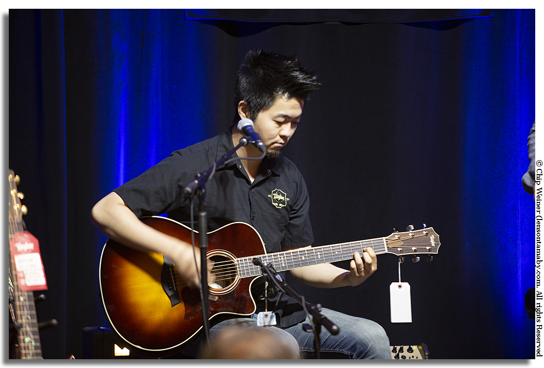 Kenny Echizen is a a session and touring guitarist hailing from LA-. As a clinician he's been involved with Taylor Guitars as a Product Specialist traveling all over North America since 2013. Dude can play!