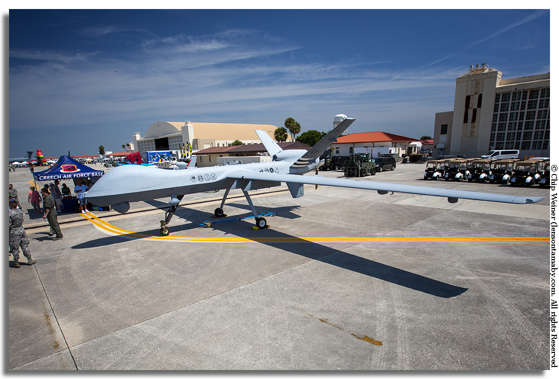 And I thought my drone was cool. This beauty comes to Tampa from Creech Air Force Base in Indian Springs, NV