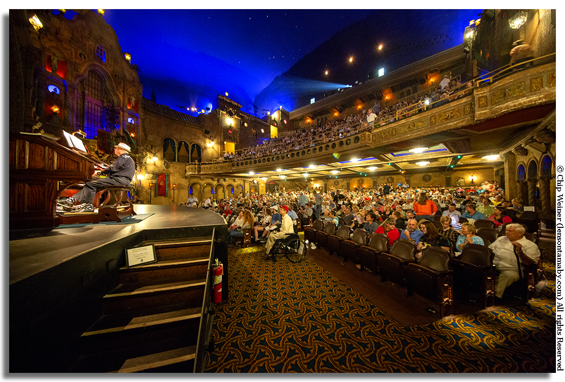Tampa Theater is packed with folks anticipating the release of Goody Goody Past, Present, and Future
