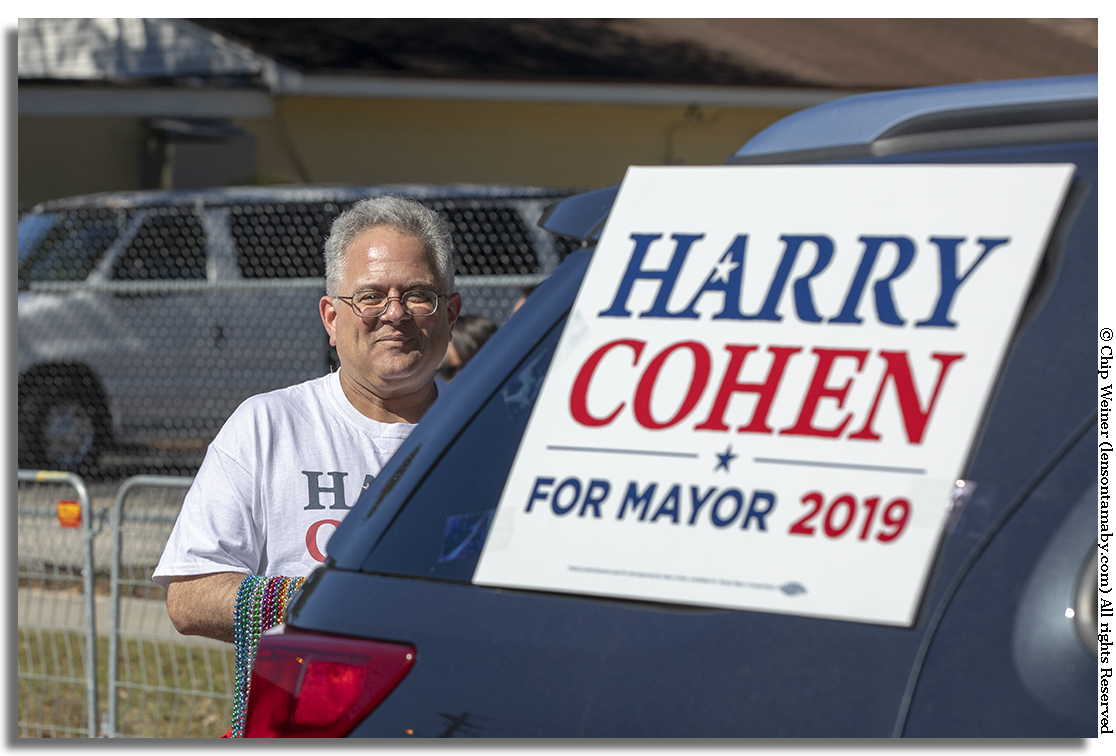 Most of the Tampa mayoral candidates were present, including City Councilman Harry Cohen.