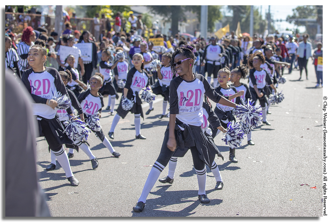 Several dance companies including I2D (Inspire 2 Dance) strutted in the parade