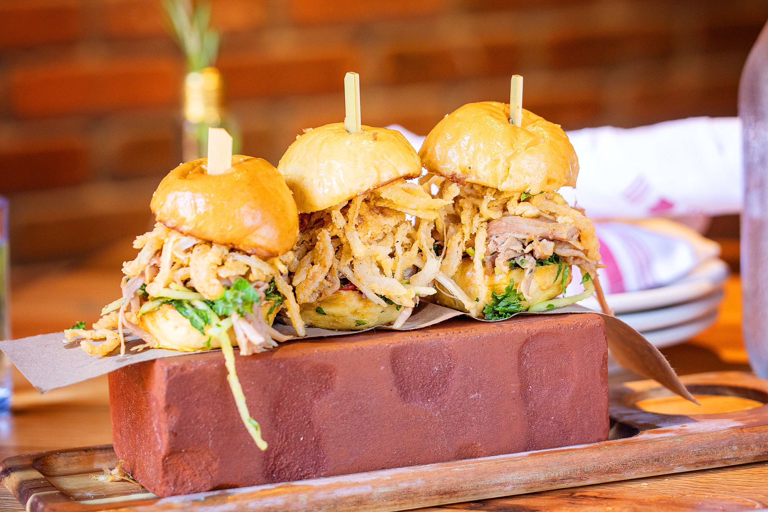 3 Little Pigs- slow-roasted pulled pork sliders, whiskey BBQ, apple slaw, crispy onion strings-32.jpg