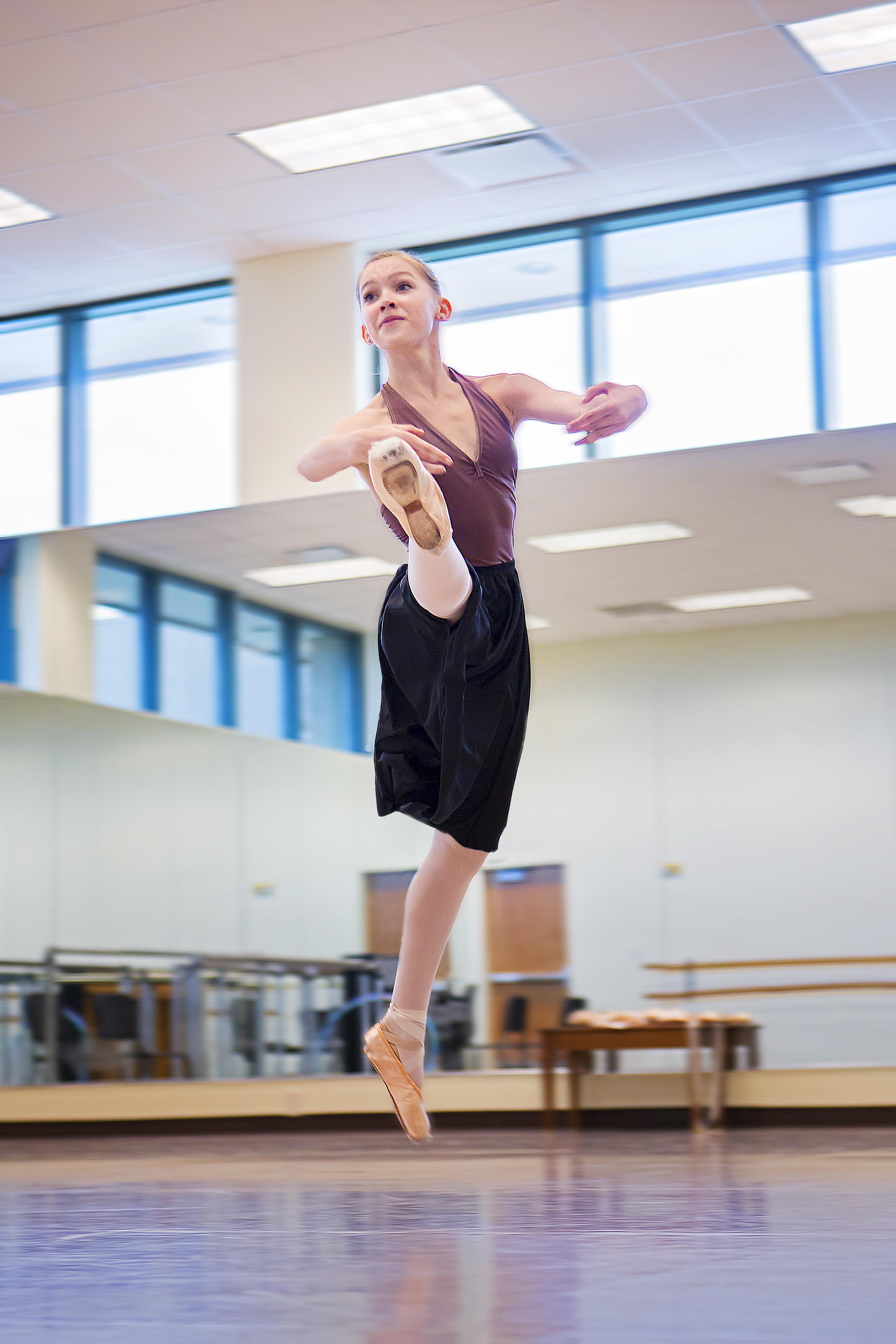 Noelle Miller rehearses her individual routine 4.jpg