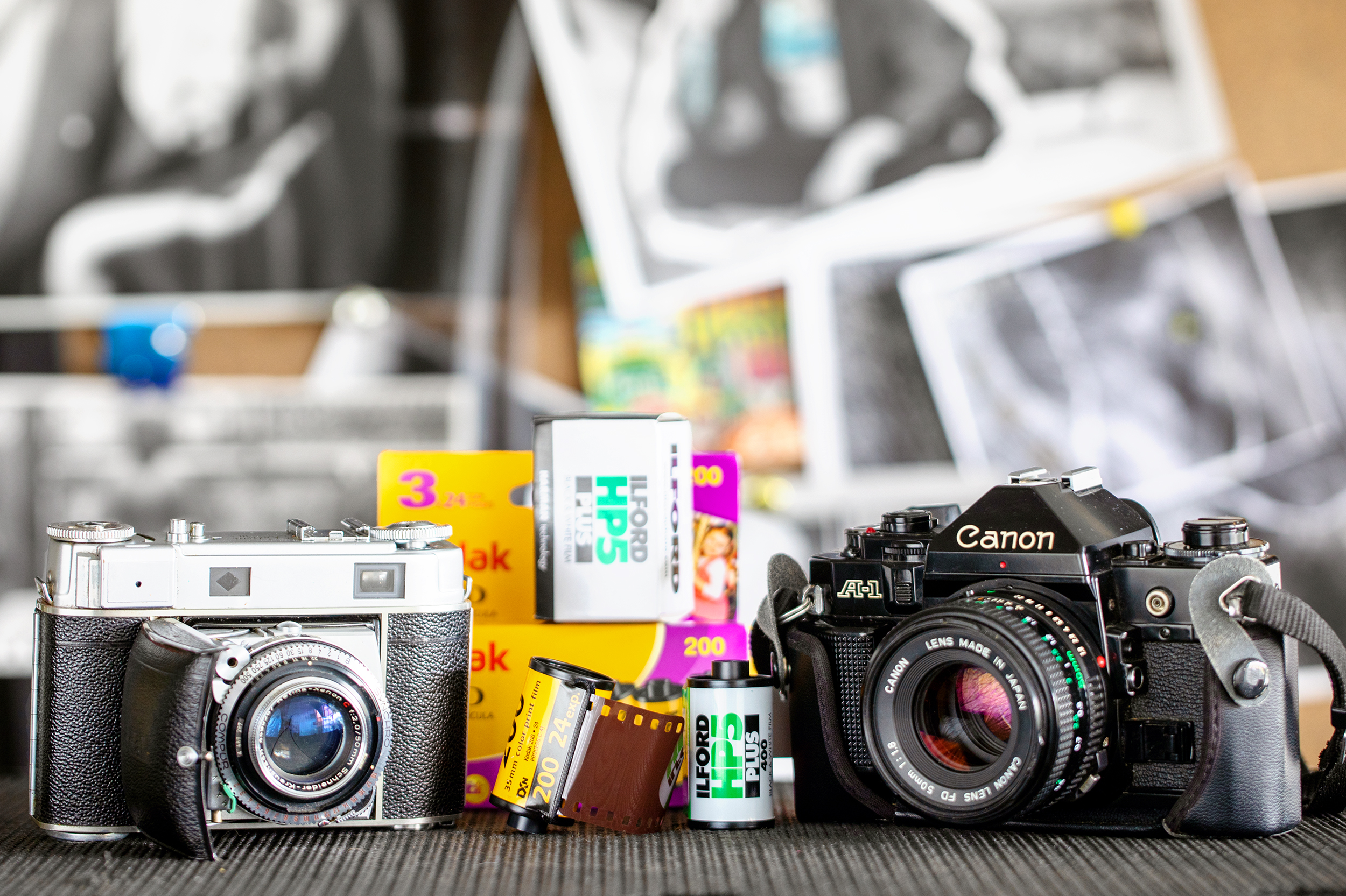 Learn or re-learn how to use your film camera in an interactive class