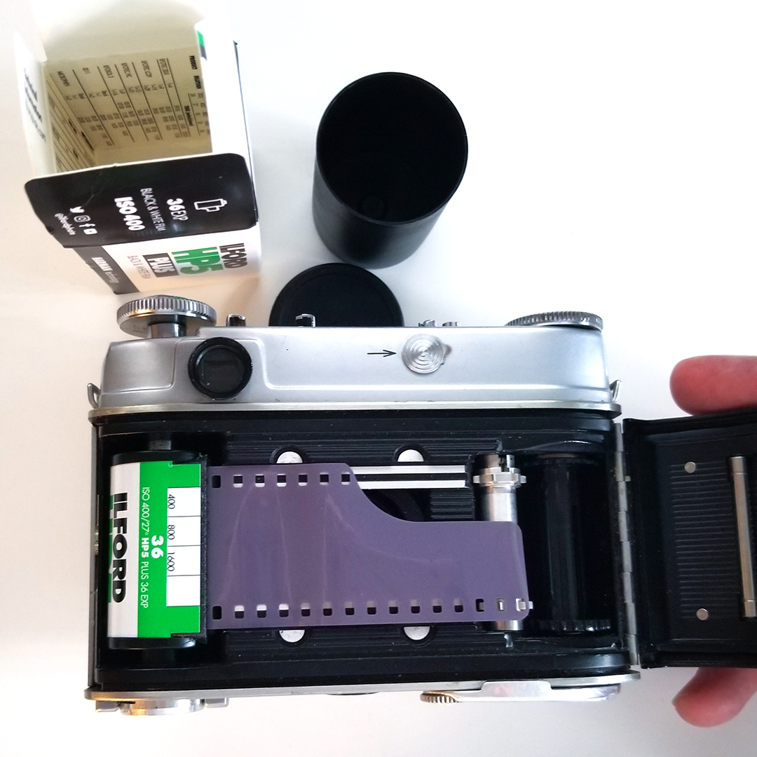 We will teach basics from loading film to setting for correct exposure