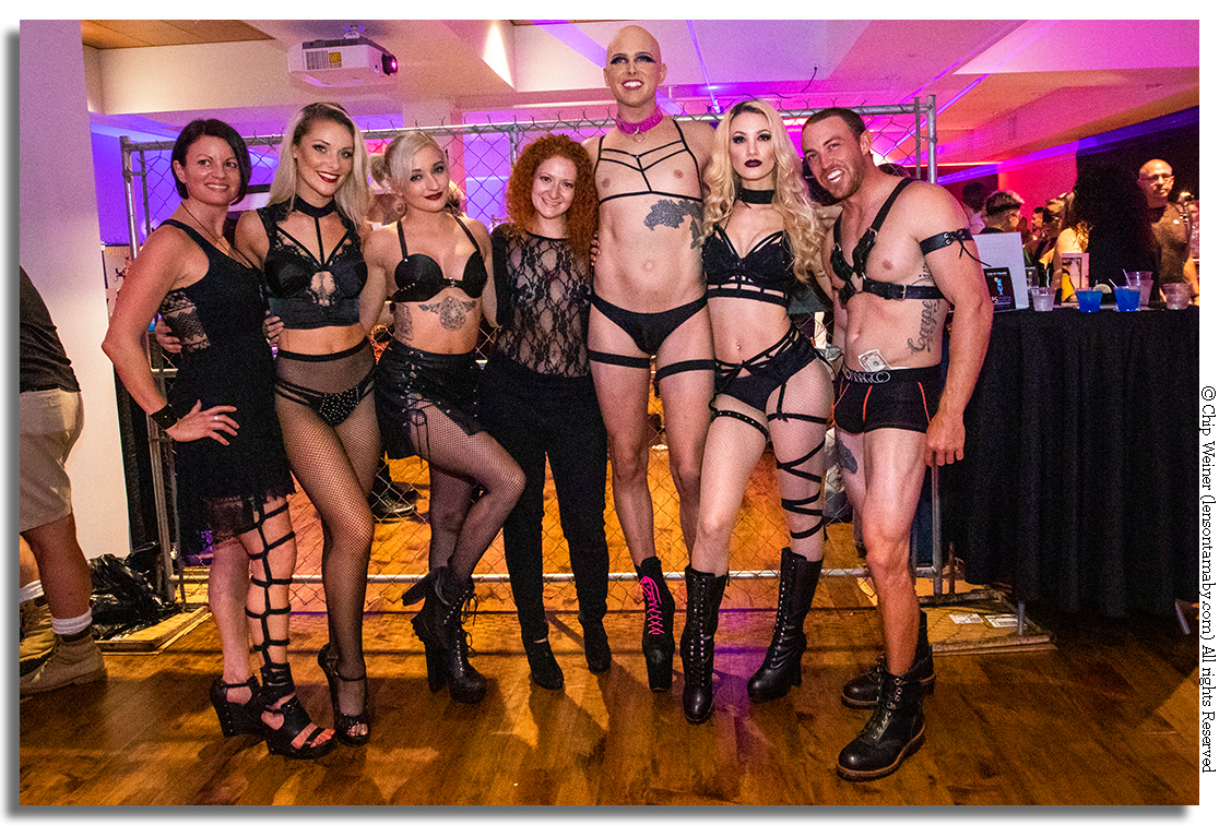 Leather and lace dominate at the Metro Inclusive Health's KINK show