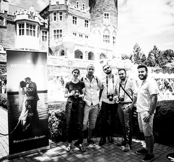 The Westend Studio team shooting World Prides' Grand Pride Wedding, at Casa Loma.