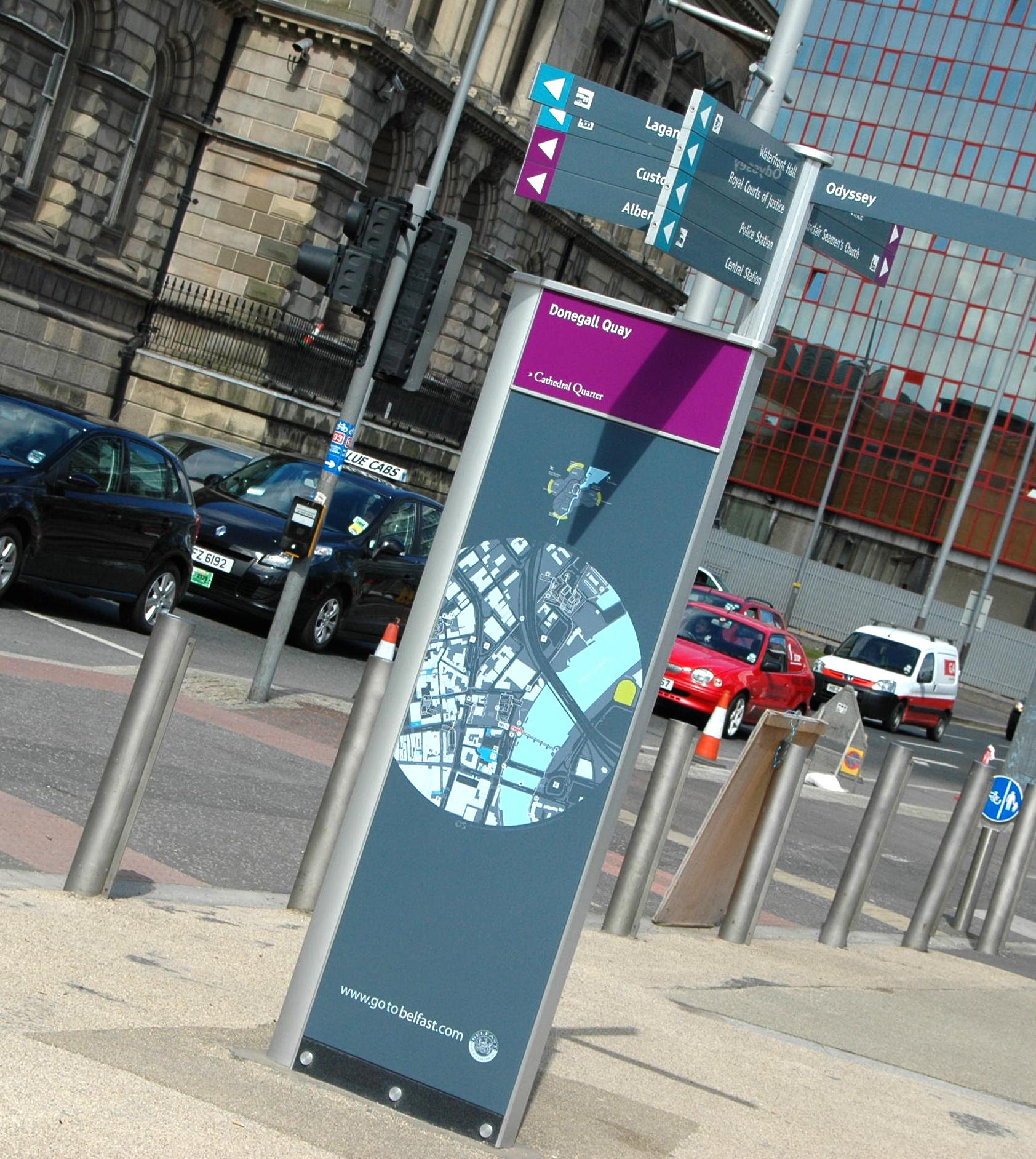 Belfast tourism signage strategy