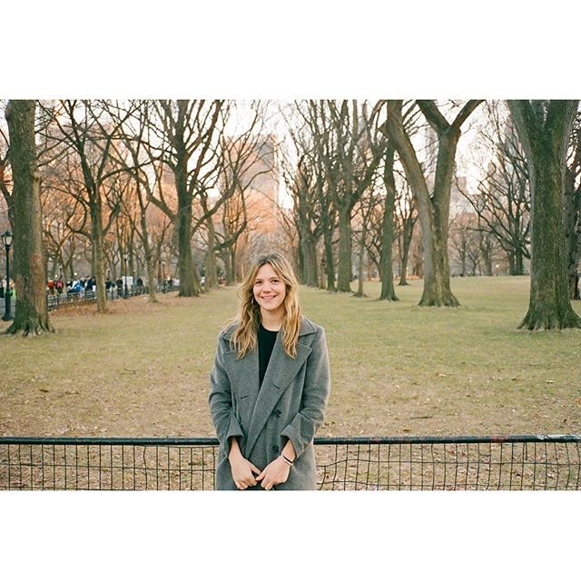 not yet spring tho || it me in #centralpark from a few weeks back #35mm