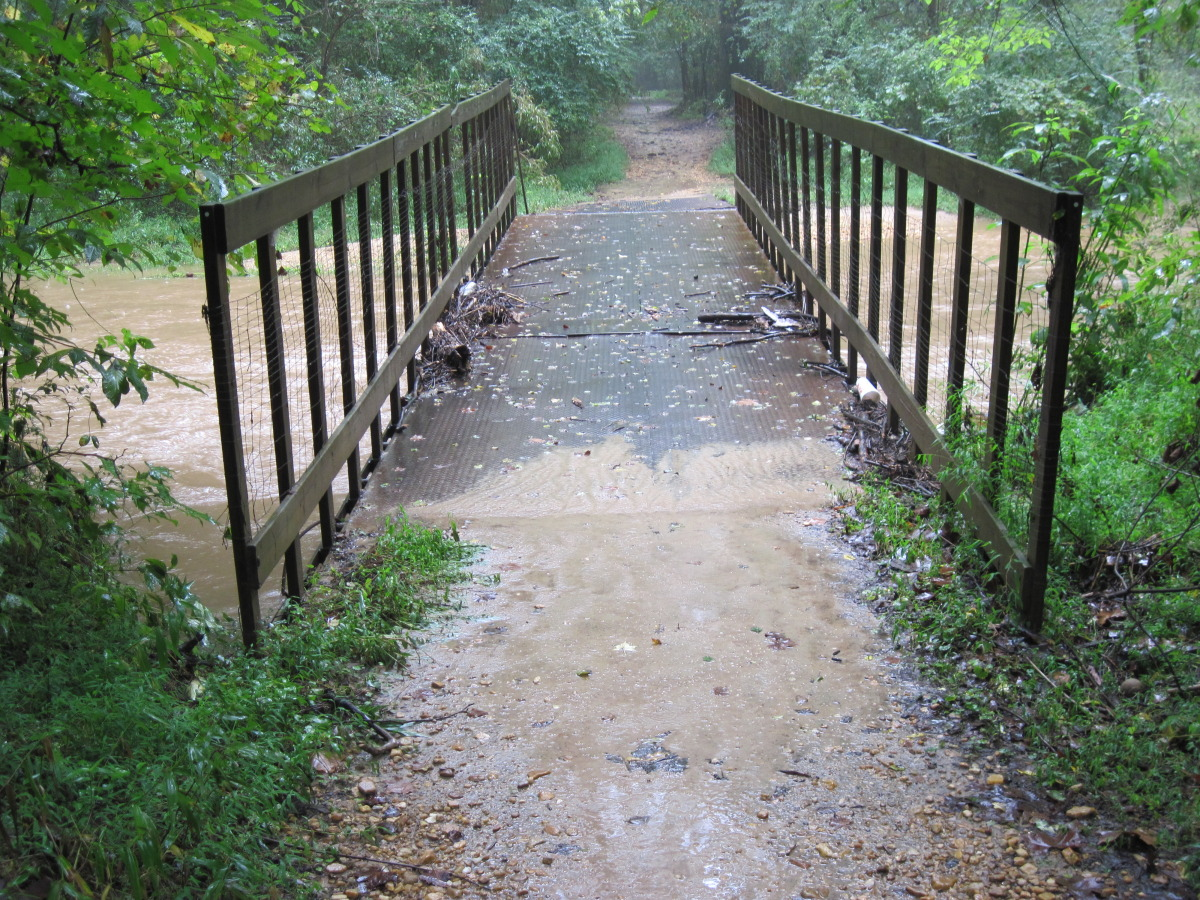 Blankets Creek Flood 2009
