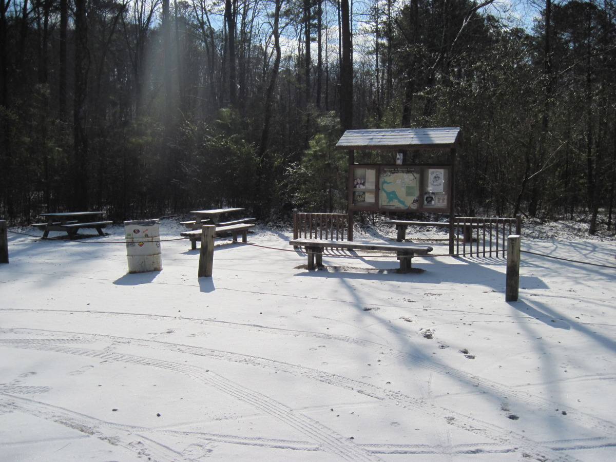 Snow at Blankets Creek 2010