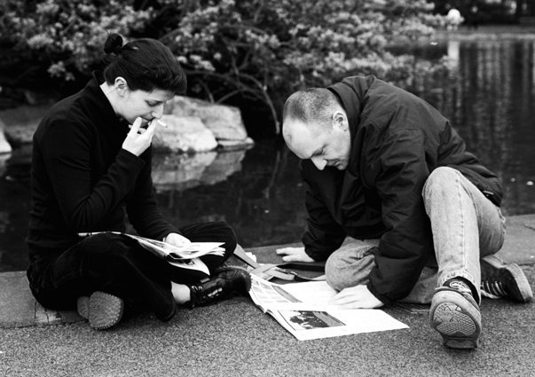 Bob Fagan_Dublin_Couple Reading.jpg
