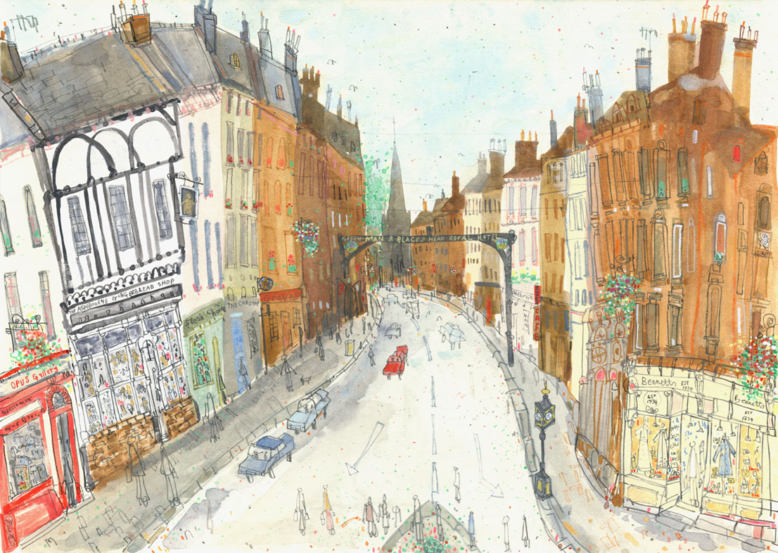 'St. John's Street Ashbourne'