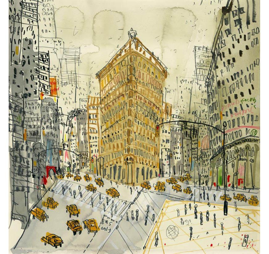 'Flatiron on Fifth Avenue NYC'