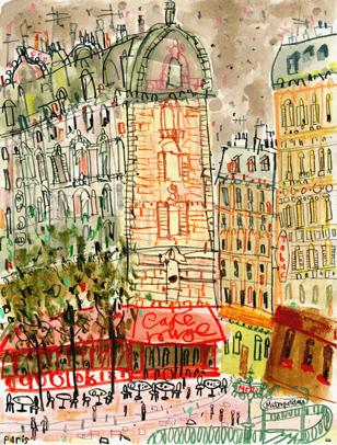 Café Rouge Paris