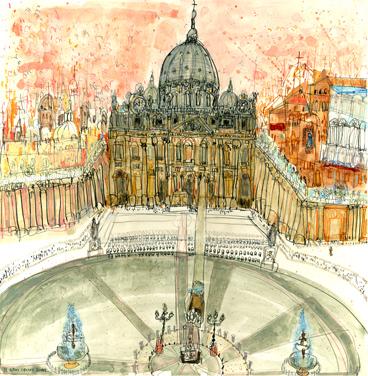 St. Peter's Square Rome