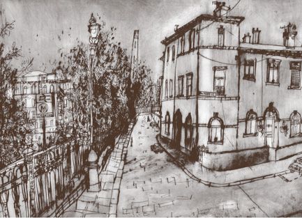 Cobbles of Albert Terrace