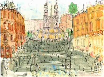 The Spanish Steps Rome
