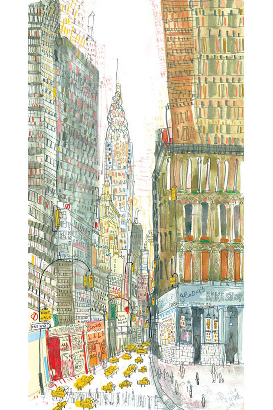 'Glaser's Bake Shop NYC'  Giclee print 25 x 47 cm Edition size 195   £145