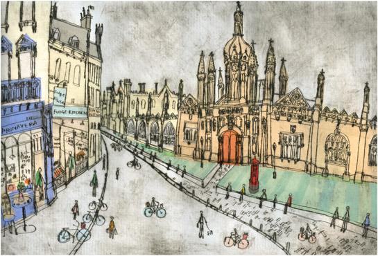 King's Parade Cambridge