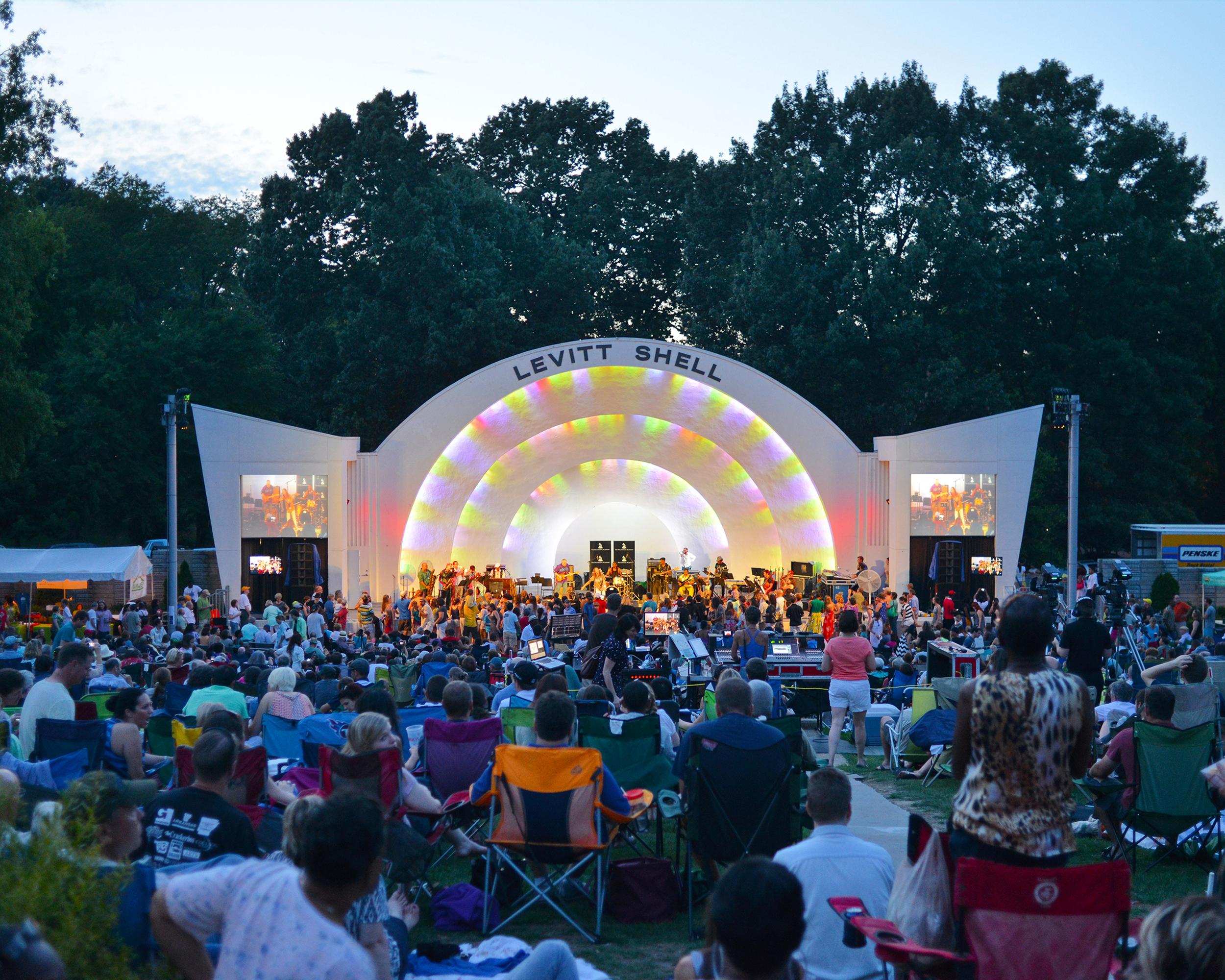 Levitt Shell, Memphis, Tennessee - Est. 2008  levittshell.org