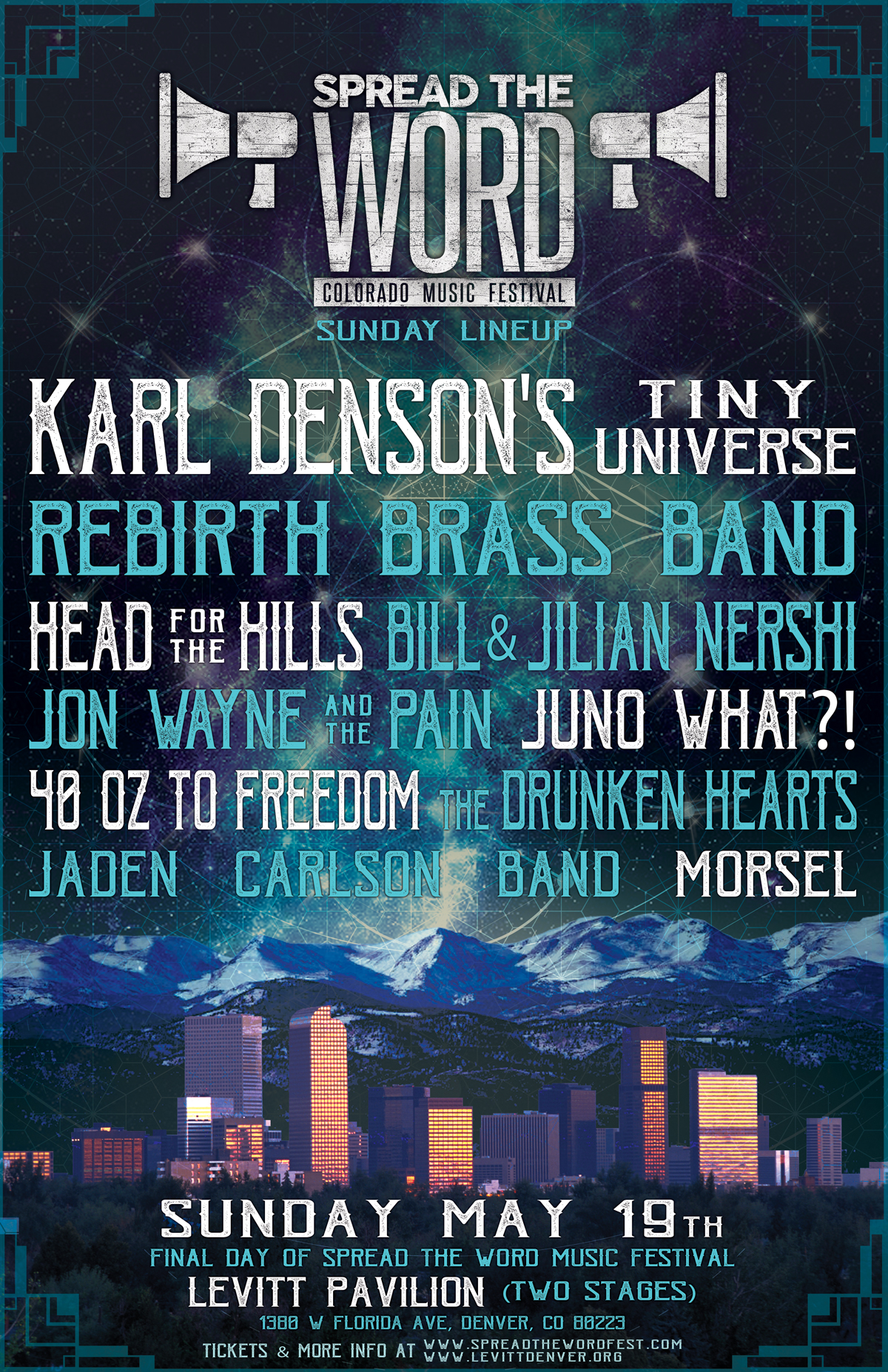 Spread The Word Colorado Music Festival