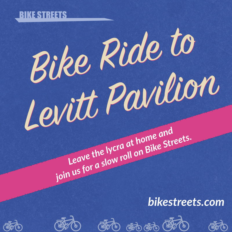 Learn how to use the low-stress Bike Streets bike map to get around Denver. We'll start at Cheeseman Park and make our way to Levitt Pavilion at a pleasant pace.