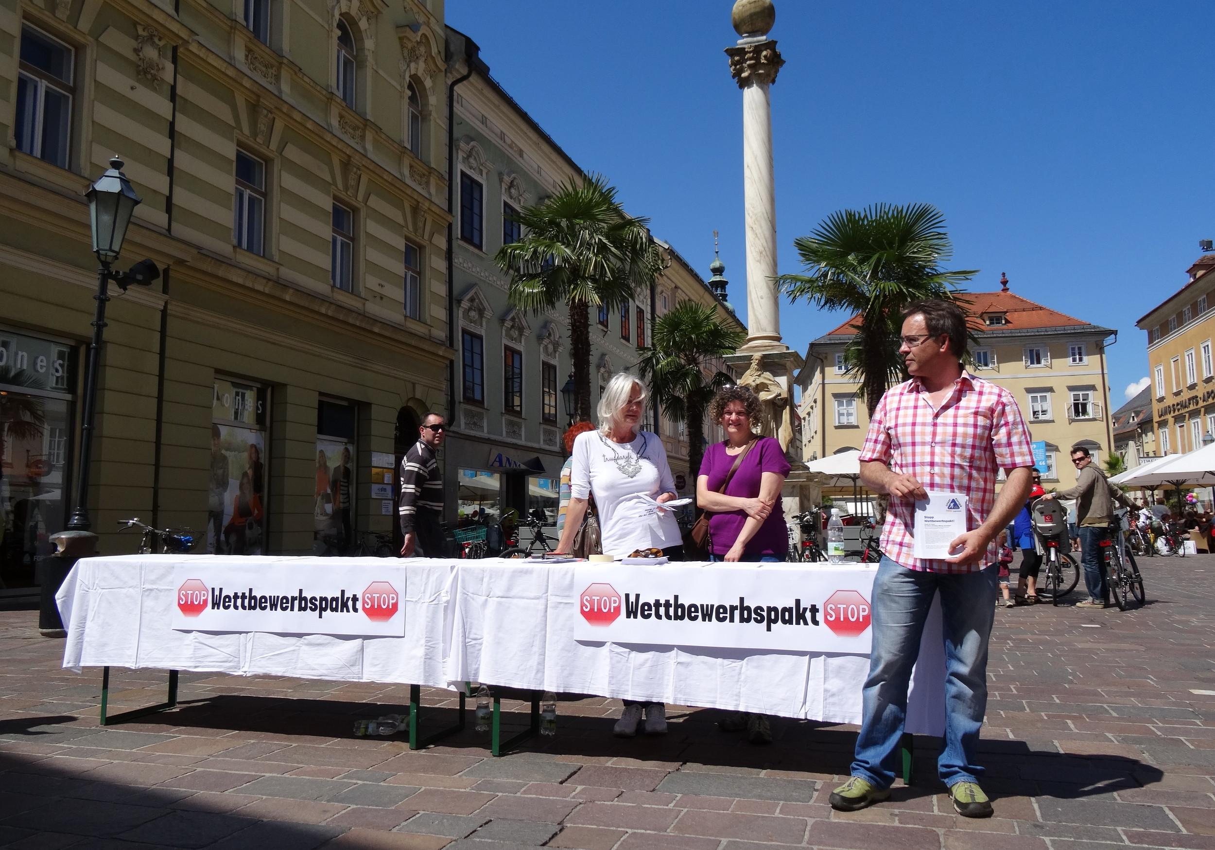 Klagenfurt (Asok, Attac, BGE...)